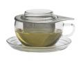 Tea for one - čajový šálek 0,3 l s podšálkem a sítkem