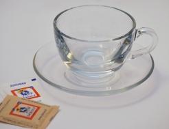 Dersut skleněný šálek Macchiato 50ml - sada 6 kusů