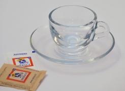 Dersut skleněný šálek Cappuccino 150ml - sada 6 kusů
